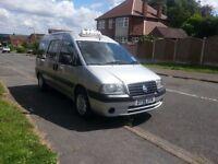 2007 56 Fiat Scudo/Peugeot Expert e7 Taxi Minibus Wheelchair Accessible Taxi