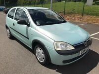 VAUXHALL CORSA 1.2 LONG MOT SERVICE HISTORY EXCELLENT CONDITION