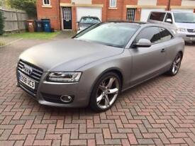 Great Condition AUDI A5 COUPE 2.7 TDI SPORT AUTOMATIC MILEAGE 47K
