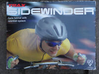 Bicycle Helmet: Trax Sidewinder. Size: Medium, 55 -59 cm unisex for Adult / Youth.