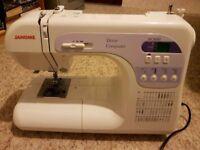 Janome Computerised Sewing Machine DC 3050 & Acessories