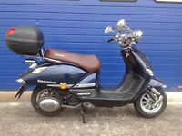 2016 LEXMOTOVERONA 125CC RETRO STYLE SCOOTER , HPI CLEAR AND FULL SERVICE HISTORY