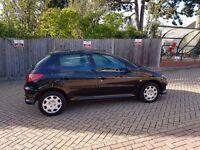 2005 Peugeot 206 1.4 petrol , manual , 1 year MOT