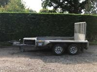 Ifor Williams 2.7 tonne 8x4 plant trailer