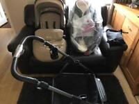 As new Wayfarer Pram & Pushchair in Sand 10month old
