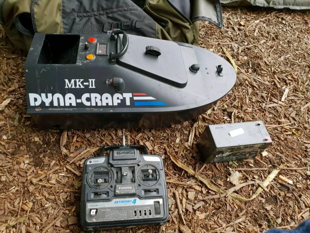 Dyna Craft Bait Boat Carp Fishing In Ipswich Suffolk