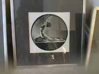 4 Art Deco frames prints