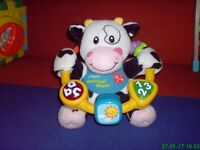 VTech Baby Moosical Beads cow
