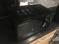 FAULTY Russell Hobbs Microwave RHM1714B - Black