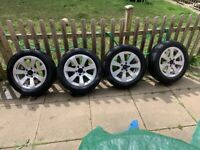 """16"""" Genuine Mercedes C Class alloy Wheels with tyres 205/55/R16"""