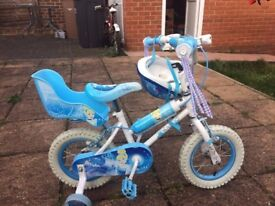 Frozen 12 inch bicycle for girls