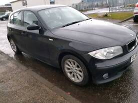Bmw 116i petrol 1 year mot