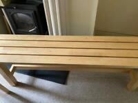 Ikea dining table bench