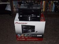 pioneer fh-x720bt duble din bluetooth cd player