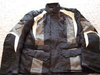 Oxford Fuega Motorcycle Jacket. Size 46 inch