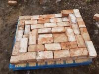 Reclaimed wirecut bricks