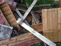 Free Wood - firewood, shelf spares, pallet parts
