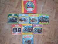 Thomas the tank engine books x 9