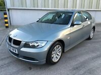 Stunning 2007 07 Bmw 318i Se 2.0 4Dr **3 Owners+Only 78000+Full Parks History+Full Leather**