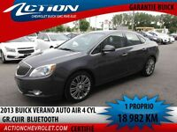2013 BUICK VERANO GROUPE CUIR AUTO AIR BLUETOOTH