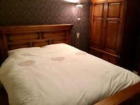 Bedroom suite (Bed, double wardrobe & chest of drawers)