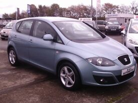 59 REG SEAT ALTEA EMOCION *1 OWNER FROM NEW* 12 MONTHS M.O.T 6 MONTHS WARRANTY