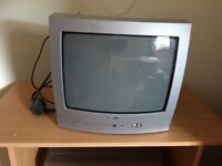 Small coloured tv perfect for kids room/kitchen