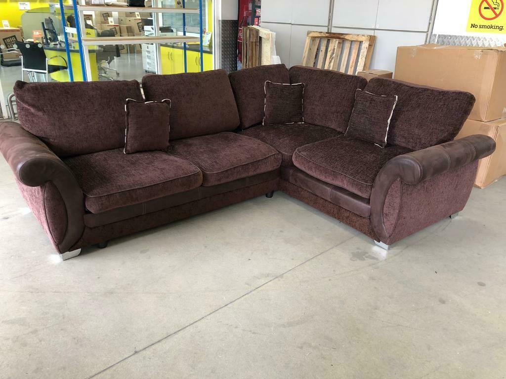 release date: 2fcee ac51d DFS L shape sofa bed with pull out bed, Free delivery | in Clapham, London  | Gumtree