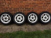 "E36 bmw msport alloys 16"" 328 325 320 318 m3 coupe convertible"