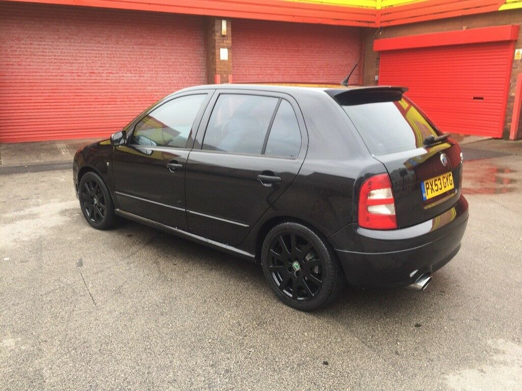 2004 53 skoda fabia vrs hybird turbo remapped 106 gti rs turbo st 172 sport in lytham st annes. Black Bedroom Furniture Sets. Home Design Ideas