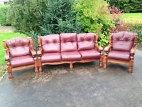 Oxblood 3.1.1 leather cottage suite