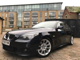 2007 BMW 525D M SPORT AUTO **FULL-SH**FULL MOT**HPI CLEAR**