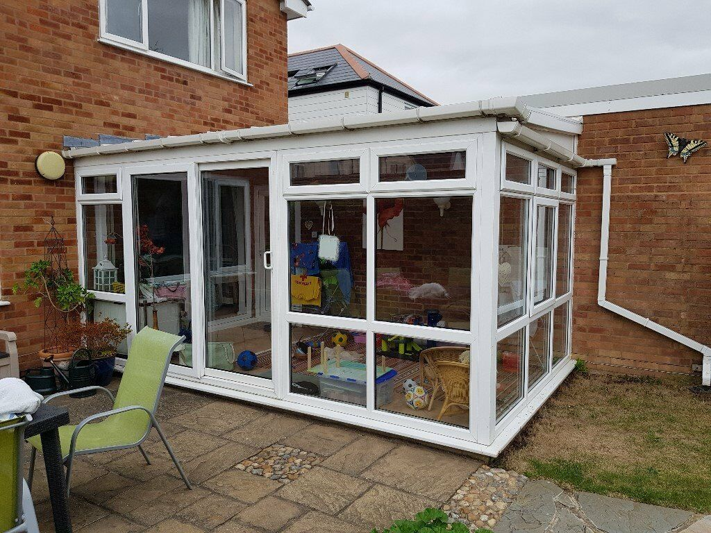 Second Hand Upv Conservatory For Sale With Sliding Doors To Be