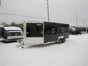 2017 Cargo Express 7' x 23' (EXTREME) ALL ALUMINUM SNOWMOBILE TR