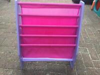 PEPPA PIG Bookcase Book Sling Bedroom Storage Shelving 3 Months old St