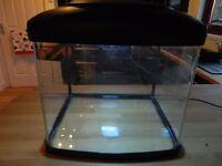 "Interpet lit Fish Pod tank 48 litres approx 14""X16""X13"" No leaks"