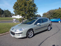 PEUGEOT 407 SW ESTATE HDI DIESEL 6 SPEED STUNNING GOLD 2006 BARGAIN ONLY 1500 *LOOK* PX/DELIVERY