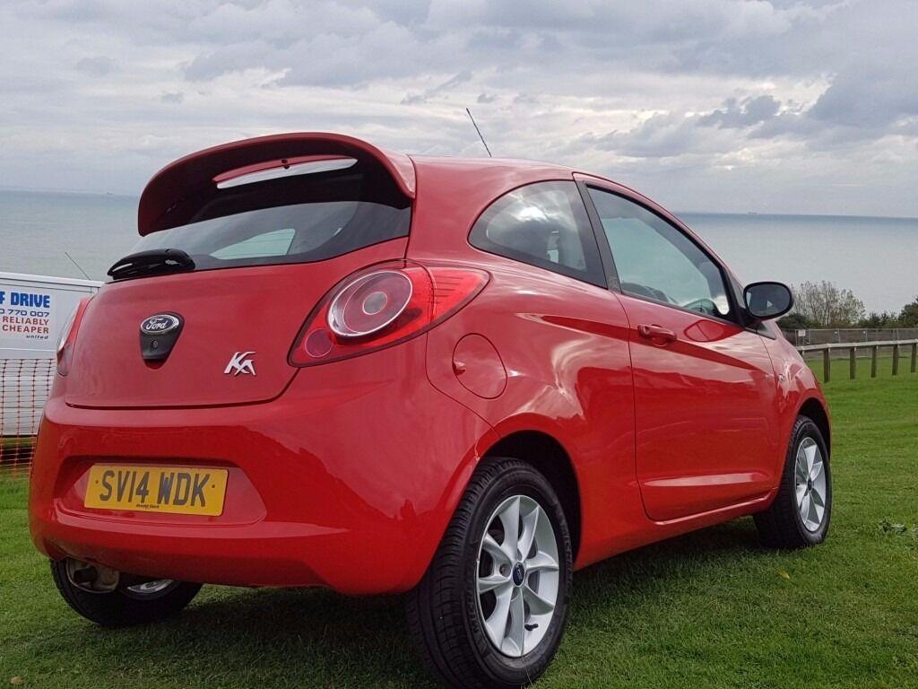 Ford Ka 1.2 studio low miles 17k New Mot road tax 30p/y
