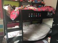 Bunk bed with shelves SOLD