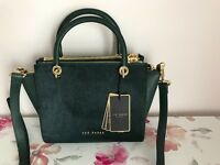 Ted Baker leather designer handbag - brand new with tags