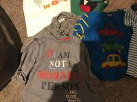 Bundle 8 x 12-18 month t-shirts and tops