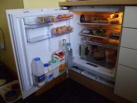 Neff, built in fridge.