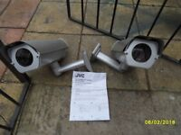 2 security cameras in working order