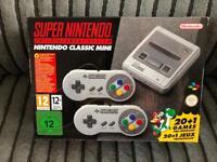 SNES Mini (Super Nintendo Mini) with 21 Games - NEW