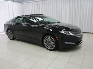 2016 Lincoln MKZ 2.0 L AWD ECOBOOST SEDAN. EXPERIENCE LUXURY AT
