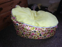 Yellow Bird Unisex Baby Beanbag 0-8years Excellent used condition