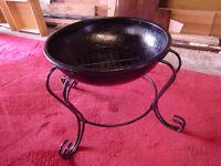 Large Wrought Iron BBQ