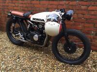 1971 Honda CB125-Twin Cafe Racer