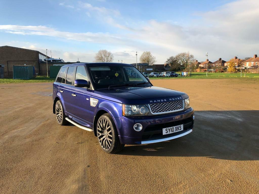 2010 Range Rover Sport Se 30tdv6 Autobiography Kit Bali Blue In Fuse Box 2006