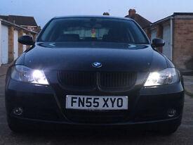 Black BMW E90 320i,F/S/H, 2.0L petrol engine, immaculate condition